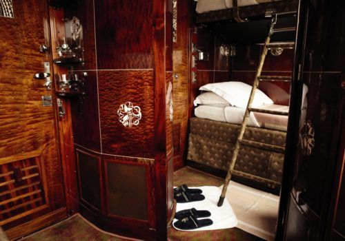 Cabin on Venice Simplon-Orient-Express