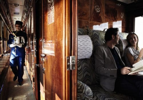 Cabin on Orient Express