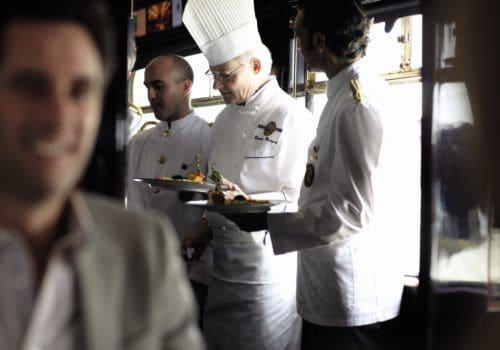 Restaurant on Orient Express