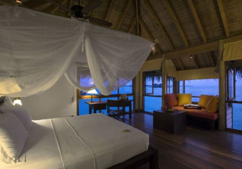 Gili Lankanfushi Maldives Villa Suite – Bedroom