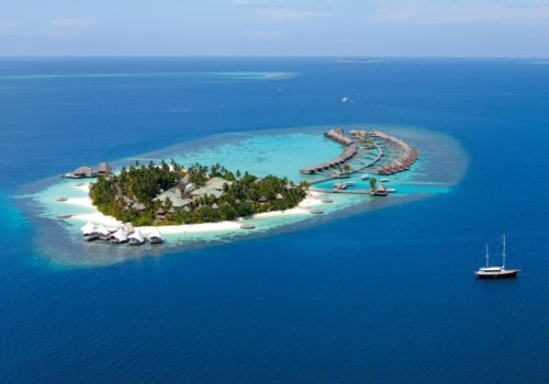 W Retreat And Spa Maldives Ariel Image