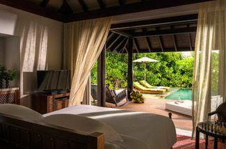 Anantara kihavah beach pool villa