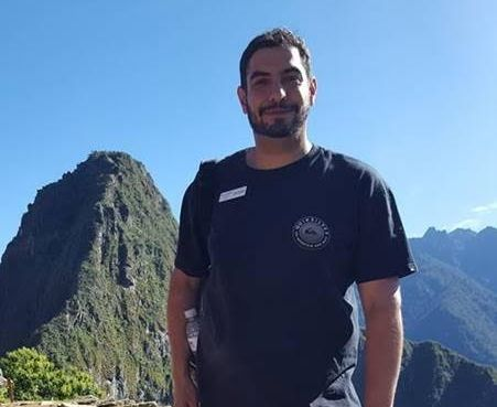Anthony Dowlatshahi at Machu Picchu