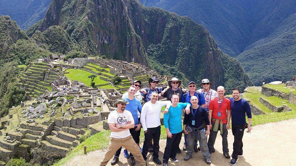 Machu Piccu gay group trip