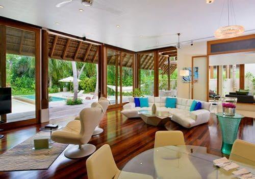 Beach suite Conrad Maldives