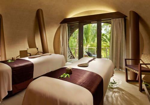The spa at the Brando French Polynesia