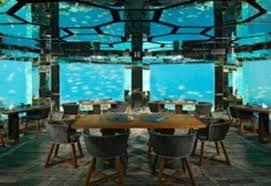 Anantara Maldives underwater restaurant