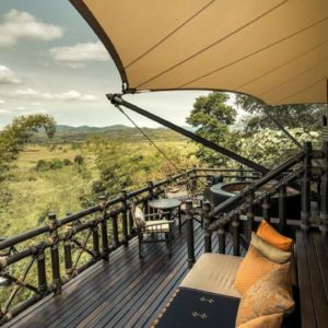 Deluxe Tent at Four Seasons Tented Camp Golden Triangle Thailand