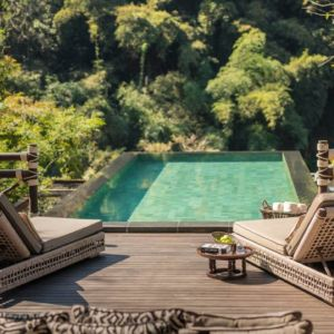 Explorer's Lodge at Four Seasons Tented Camp Golden Triangle Thailand