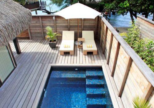 Hilton Moorea Lagoon Resort And Spa pool bungalow