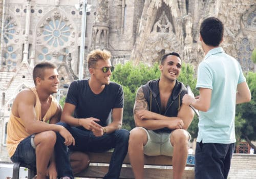 Gay guys in Barcelona