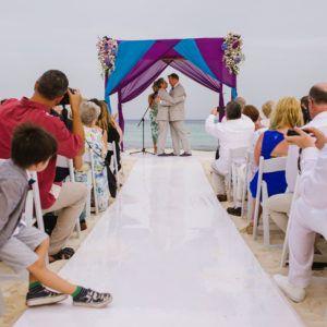 Gay wedding at Viceroy Riviera Maya Mexico
