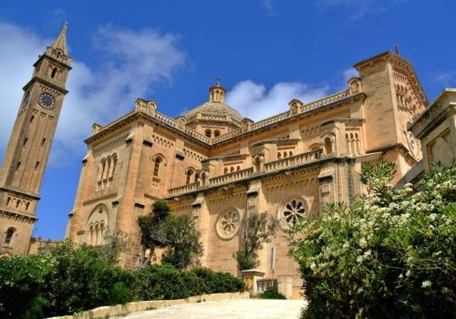 Gozo Cathedral Malta