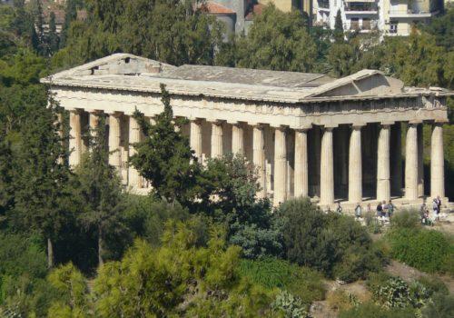 Agora, Athens Greece