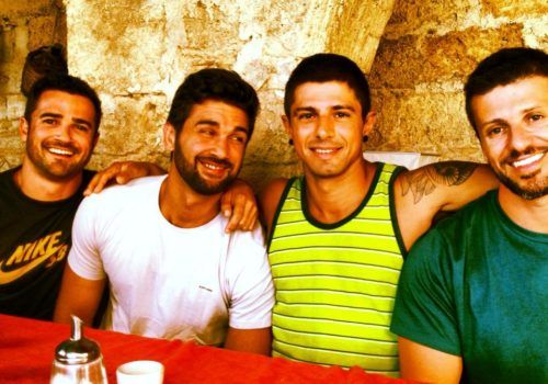 handsome guys in Italy