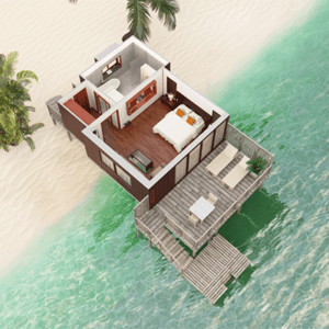 Hilton Moorea Lagoon Resort And Spa lagoon bungalow