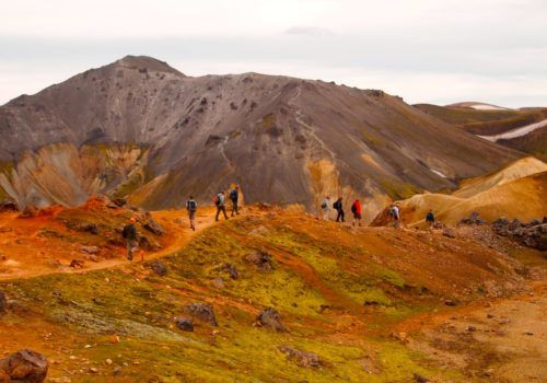 Iceland gay hiking trip