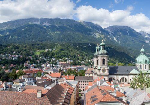 Vienna, Salzburg and Innsbruck
