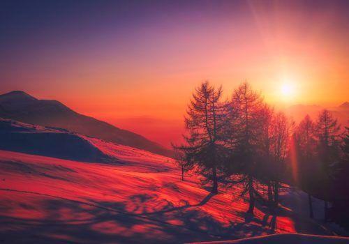 italy sunset