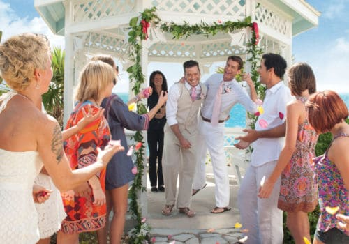 Gay wedding in Key West