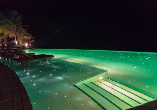 Kuredu Maldives at night