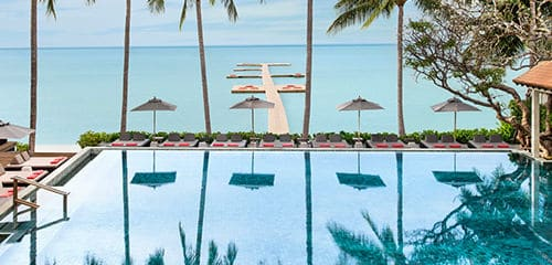 Hotel Le Meridien Bora Bora pool