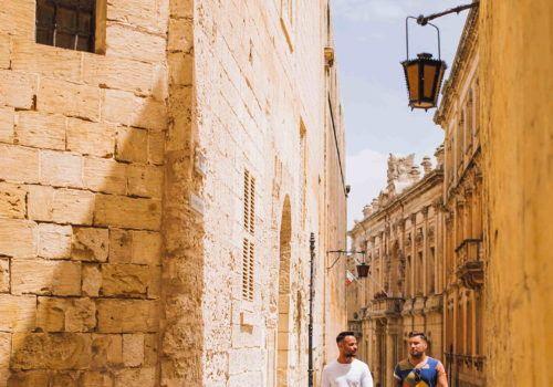 Gay couple in Malta