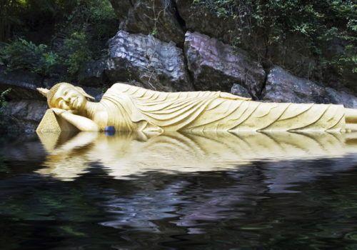 Buddha in Luang Prabang Laos