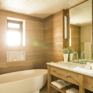 Bathroom at Lux Belle Mare Junior Suite