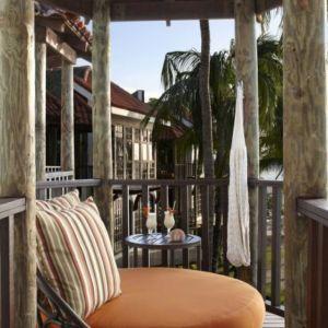 Luxury beach front room