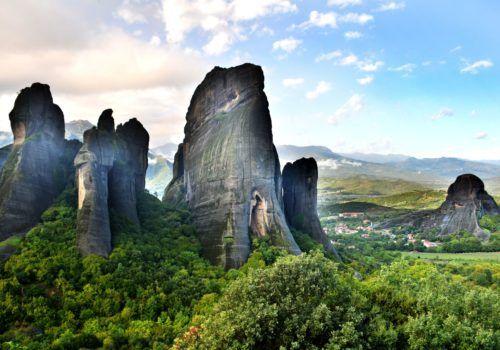 Athens, Delphi, Kalambaka and Santorini