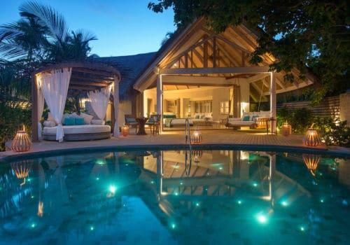 Milaidhoo Island  beach pool villa