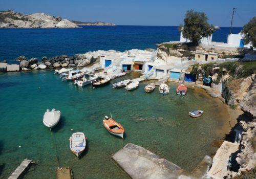 Milos, Paros and Mykonos