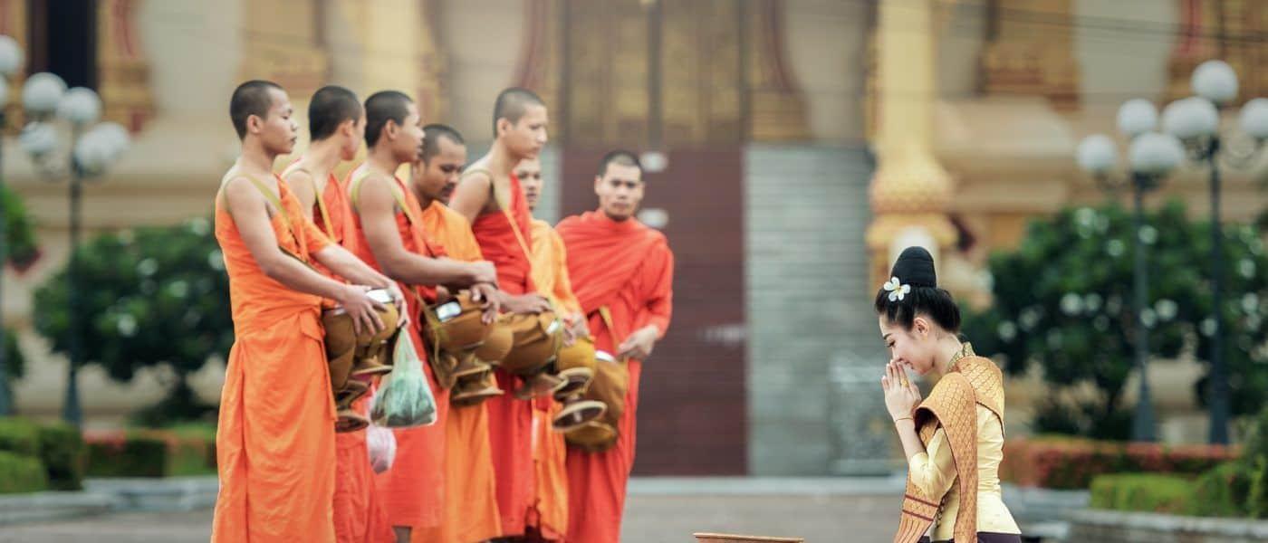 Monks in Bangkok