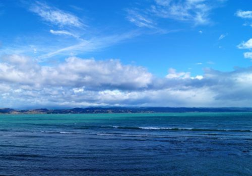 Napier New Zealand scenery