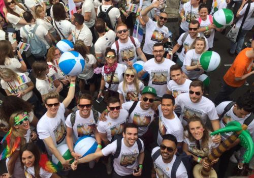 OutOfOffice.com at Pride in London 2016
