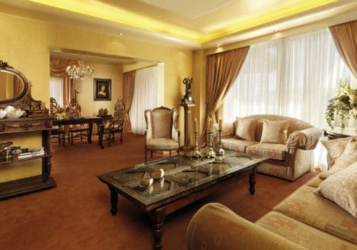 Ruby Red Capsis presidential suite