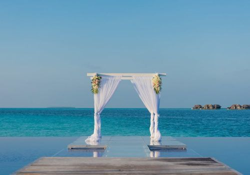 Gay wedding in the Maldives