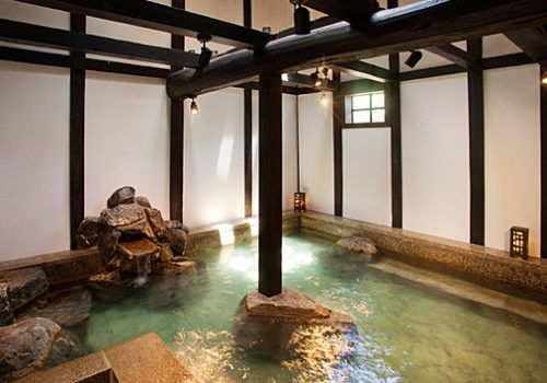 Hot springs in Takayama