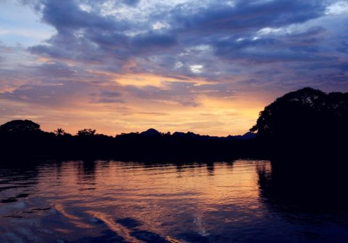River Kwai sunset
