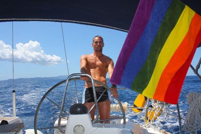 gay sailing group trip