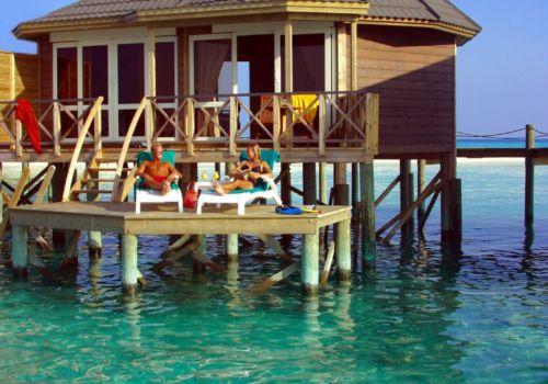 Kuredu Maldives water villa