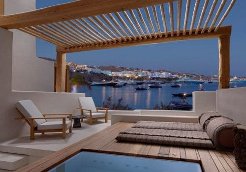 Panoramic Sea View Suite With Roof Top And Hot Tub