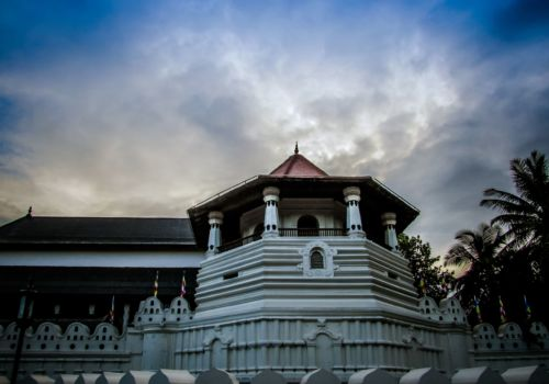 Kandy Temple of the Tooth relic Sri Lanka