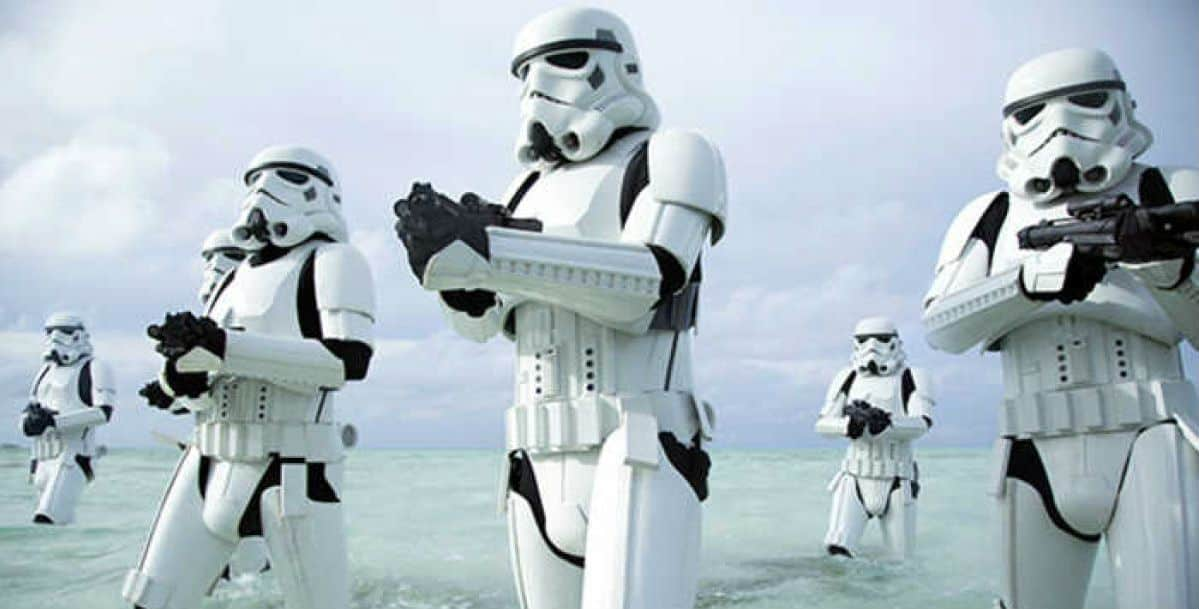 Stormtroopers in Star Wars