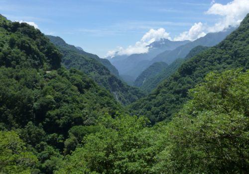 Taroko landscape Taiwan