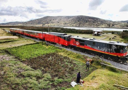 Ecuador Mountains and Railway Explorer