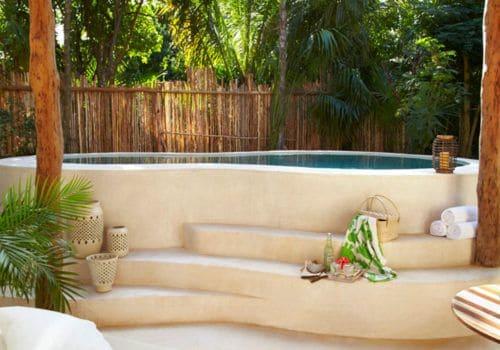 Plunge pool Viceroy Riviera