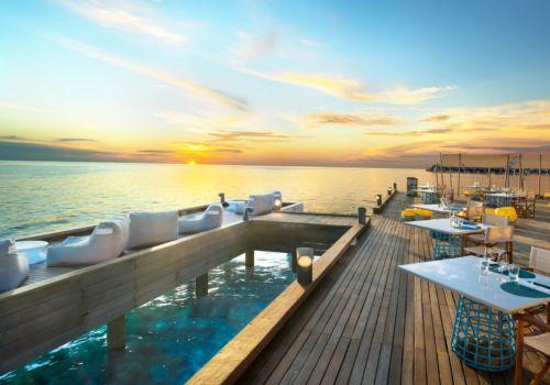 W Retreat And Spa Maldives fish deck